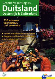 Verblijfsgids Duitsland, Oostenrijk & Zwitserland | ANWB - ECEAT | ISBN 9789075050752