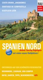 Campergids Spanje Noord - Mit dem Wohnmobil nach Nord Spanien | Werner Rau Verlag | ISBN 9783926145918