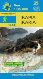 Wandelkaart Ikaria | Anavasi 10.51 | 1:35.000 | ISBN 9789609412575