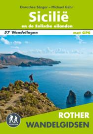 Wandelgids Sicilië en de Liparische eilanden | Elmar - Rother Sizilien | ISBN 9789038925028