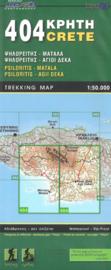 Wandelkaart Psiloritis-Agii Deka-Matala | Road editions 404 | I 1:50.000 | SBN 9789604489527