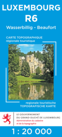 Wandelkaart Wasserbillig / Beaufort | Topografische dienst Luxembourg 06 | ISBN 5425013060431