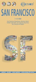 Stadskaart San Francisco   Borch   1:13.000   ISBN 9783866093317