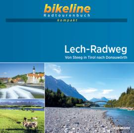Fietsgids Lech Radweg - 260 kilometer   Bikeline   ISBN 9783850009317