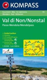 Wandelkaart Valle di Non/Nonstal | Kompass 95 | ISBN 9783854916918