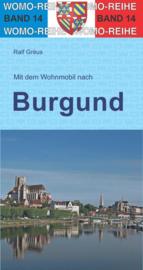 Campergids Mit dem Wohnmobil durch Burgund - Bourgondië | WOMO 14 | ISBN 9783869031439