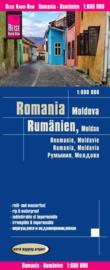 Wegenkaart Roemenië en Moldavie | Reise Know How | 1:600.000 | ISBN 9783831773312