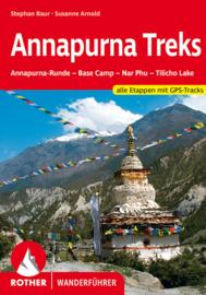 Trekkinggids Annapurna Treks | Rother Verlag | Annapurna-Runde – Base Camp – Tilicho Lake – Nar Phu | ISBN 9783763343942