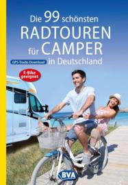 Fietsgids Die 99 schönsten Radtouren für Camper in Deutschland | BVA - ADFC | ISBN 9783870739447