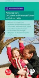 Wandelkaart  Nationaal Park De Loonse en Drunense Duinen en Huis ter Heide | Natuurmonumenten Falk 10 | 1:20.000 | ISBN 9789028725409