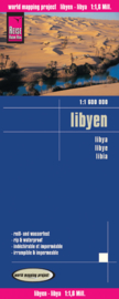 Wegenkaart Libyen | Reise Know How | 1:1,6 miljoen | ISBN 9783831770229