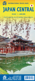 Wegenkaart Japan Central | ITMB  | 1:600.000 | ISBN 9781771293907