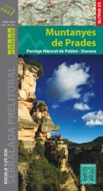Wandelkaart Muntanyes de Prades Paratge Natural de Poblet - Siurana   1:25.000   Editorial Alpina   ISBN 9788480905169