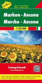 Wegenkaart - Fietskaart De Marken - Ancona |  Freytag & Berndt | ISBN 9783707914870