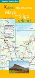 Fietskaart - Wegenkaart Mayo en Sligo (Ierland) | Xploreit | 1:100.000 | ISBN 9780955265556