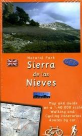 Wandelkaart Sierra de Las Nieves | Editorial Penibetica | 1:40.000 | ISBN 9788493444914