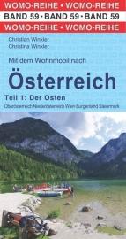 Campergids Mit dem Wohnmobil nach Österreich Ost | WOMO 59 | ISBN 9783869035949