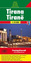 Stadskaart Tirana | Freytag & Berndt | 1:10.000 | ISBN 9783707916263