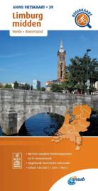 Fietskaart Midden Limburg   ANWB 39    1:66.666   ISBN 9789018047405