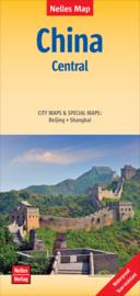 Wegenkaart China Centraal | Nelles | 1:1,5 miljoen | ISBN 9783865740953