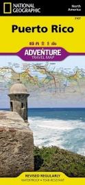 Wegenkaart Puerto Rico | National Geographic 3107  | 1:125.000 | ISBN 9781566955188