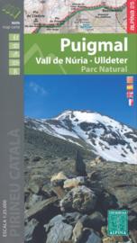 Wandelkaart Puigmal - Vall de Nuria | Editorial Alpina | Oostelijke Pyreneeën | 1:25.000 | ISBN 9788480907835