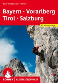 Klettersteiggids Klettersteige Bayern-Voralberg-Tirol - Salzburg | Rother Verlag | ISBN 9783763330942