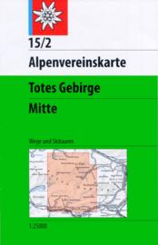 Wandelkaart Totes Gebirge Mitte 15/2 | OAV | 1:25.000 | ISBN 9783928777315