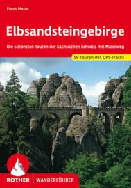 Wandelgids Rother Elbsandsteingebirge - Sachsiche Schweiz | Rother Verlag | ISBN 9783763341917