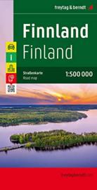 Wegenkaart  Finland   Freytag Berndt   1:500.000   ISBN 9783707905793