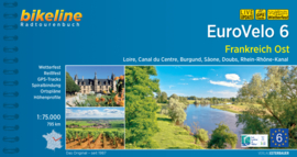 Fietsgids Eurovelo 6 : Orleans - Basel | Bikeline | ISBN 9783850006965