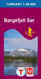 Wandelkaart Børgefjell Sor 2619 | Nordeca | 1:50.000 | ISBN 7046660026199