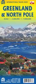 Landkaart Greenland  - Noordpool | ITMB | ISBN 9781771293136