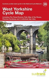 Fietskaart West Yorkshire Cycle Map | Sustrans Cycle Map 29 | ISBN 9781910845141