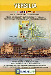 Wandelkaart Versilia - Massa - Carrara - Alpi Apuane | Global Map | 1:35.000 | ISBN 9788879143936