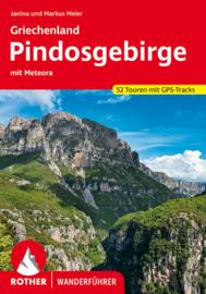 Wandelgids Pindosgebirge - Het Pindo's gebergte   Rother Verlag   ISBN 9783763345618