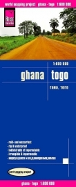Wegenkaart Ghana - Togo | Reise Know How | 1:600.000 | ISBN 9783831772629
