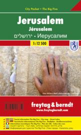 Stadskaart Jerusalem | Freytag & Berndt | 1:12.500 | ISBN 9783707913750