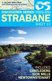 Wandelkaart Strabane | Discovery Northern Ireland 12 - Ordnance survey | 1:50.000 | ISBN 9781905306688
