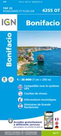 Wandelkaart Bonifacio | 1:25.000 | Corsica -  IGN 4255OT - IGN 4255 OT | ISBN 9782758546887