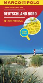 Wegenkaart Duitsland Noord | Marco Polo | 1:500.000 | ISBN 9783829738187