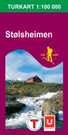 Wandelkaart Stølsheimen 2491 | Nordeca | 1:100.000 | ISBN 7046660024911
