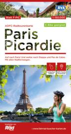 Fietskaart Picardie | ADFC | 1:150.000 | ISBN 978969900024