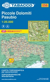 Wandelkaart Piccole Dolomiti - Pasubio | Tabacco 56 | 1:25.000 | ISBN 9788883150937
