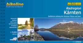 Fietsgids Kärnten Radatlas - 1000 km | Bikeline | Fietsen in Karinthië | ISBN 9783850000802