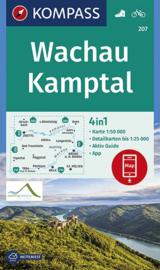 Wandelkaart Wachau Kamptal | Kompass 207 | 1:50.000 | ISBN 9783990445624