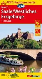 Fietskaart Saale / Westliches Erzgebirge | ADFC nr. 13 | 1:150.000 | ISBN  9783870737146