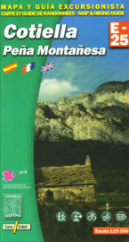 Wandelkaart Cotiella - Pena Montanesa | Editorial Alpina | Centrale Pyreneeën | 1:25.000 | ISBN 9788480902014