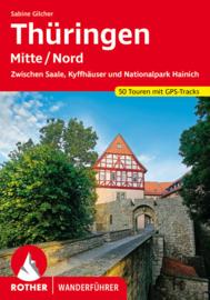 Wandelgids Thüringen - Mitte / Nord   Rother Verlag   ISBN 9783763345199