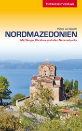 Reisgids Noordmacedonië - Nordmazedonien | Trescher Verlag | ISBN  9783897945005